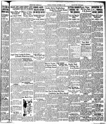 Decatur Evening Herald from Decatur, Illinois on October 20, 1930 · Page 3