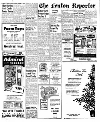 The Algona Upper Des Moines from Algona, Iowa on December 18, 1956 · Page 6