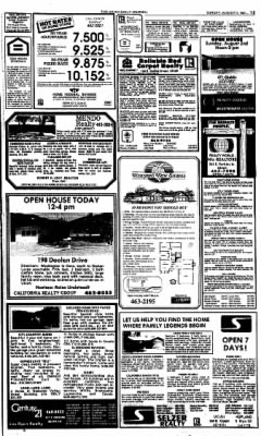 Ukiah Daily Journal from Ukiah, California on August 2, 1987 · Page 15