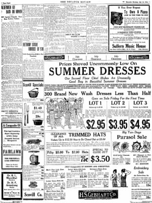 The Daily Review from Decatur, Illinois on July 16, 1914 · Page 9