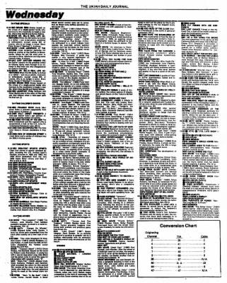 Ukiah Daily Journal from Ukiah, California on August 2, 1987 · Page 21