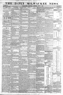 The Daily Milwaukee News from Milwaukee, Wisconsin on July 9, 1859 · Page 1
