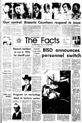 The Brazosport Facts from Freeport, Texas on December 3, 1975 · Page 1