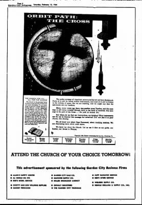 Garden City Telegram from Garden City, Kansas on February 15, 1964 · Page 3