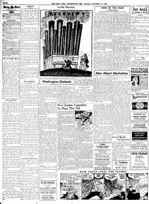 The Daily Mail from Hagerstown, Maryland on October 16, 1939 · Page 8