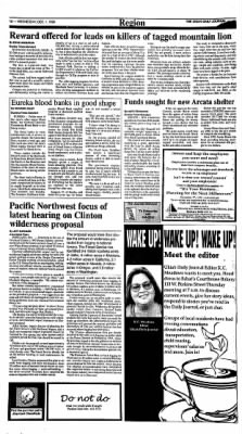 Ukiah Daily Journal from Ukiah, California on December 1, 1999 · Page 12