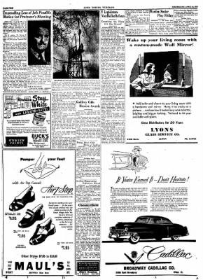 Alton Evening Telegraph from Alton, Illinois on April 26, 1950 · Page 9