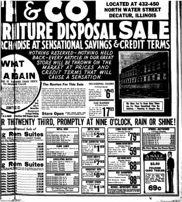 Decatur Evening Herald from Decatur, Illinois on October 22, 1930 · Page 7
