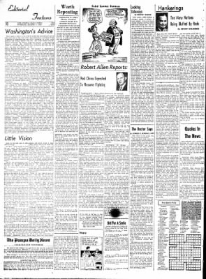 Pampa Daily News from Pampa, Texas on March 3, 1959 · Page 10