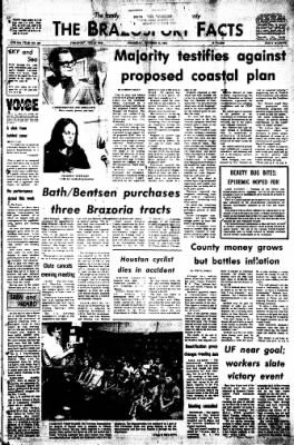The Brazosport Facts from Freeport, Texas on October 17, 1974 · Page 1