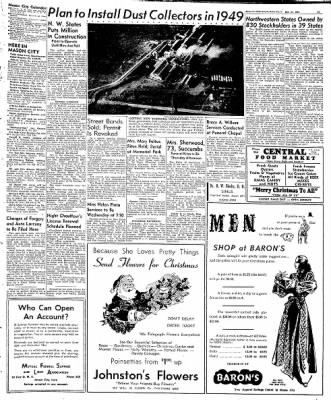 Globe-Gazette from Mason City, Iowa on December 22, 1948 · Page 13