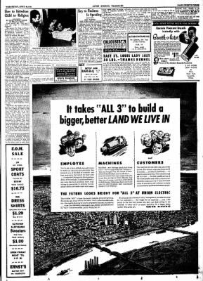 Alton Evening Telegraph from Alton, Illinois on April 26, 1950 · Page 22