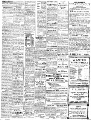 Denton Journal from Denton, Maryland on August 13, 1898 · Page 2