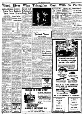 Alton Evening Telegraph from Alton, Illinois on April 26, 1950 · Page 23