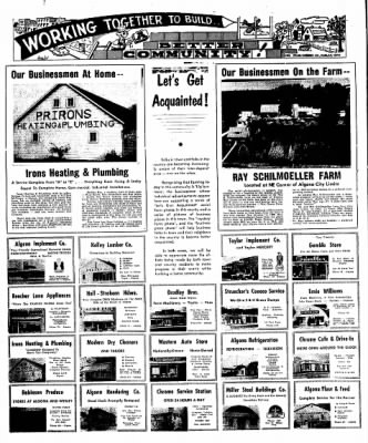 The Algona Upper Des Moines from Algona, Iowa on December 25, 1956 · Page 18