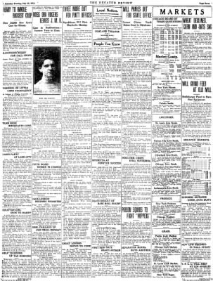 The Daily Review from Decatur, Illinois on July 18, 1914 · Page 7