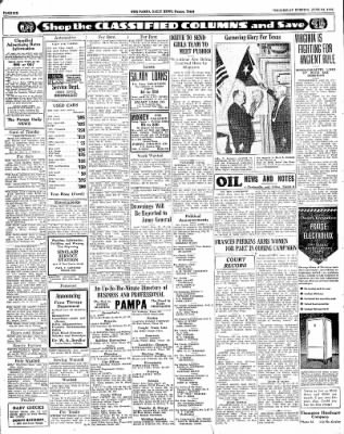 Pampa Daily News from Pampa, Texas on June 24, 1936 · Page 6