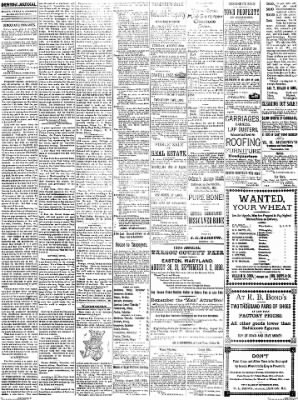 Denton Journal from Denton, Maryland on August 20, 1898 · Page 2