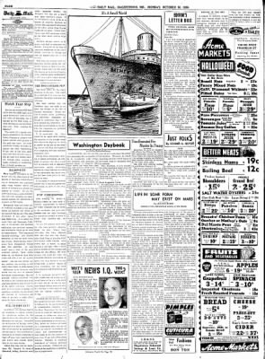 The Daily Mail from Hagerstown, Maryland on October 30, 1939 · Page 4