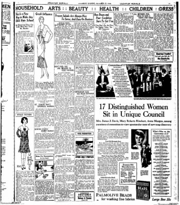 Decatur Evening Herald from Decatur, Illinois on October 23, 1930 · Page 11