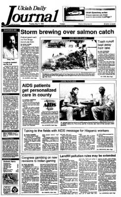 Ukiah Daily Journal from Ukiah, California on May 11, 1993 · Page 1