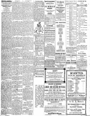 Denton Journal from Denton, Maryland on September 3, 1898 · Page 2
