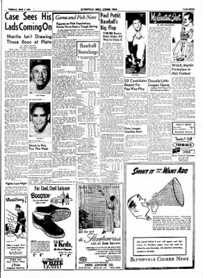 The Courier News from Blytheville, Arkansas on June 1, 1954 · Page 7