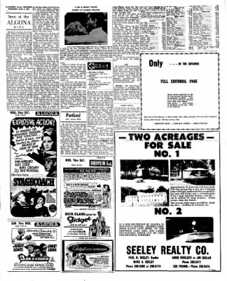 Kossuth County Advance from Algona, Iowa on August 4, 1966 · Page 11