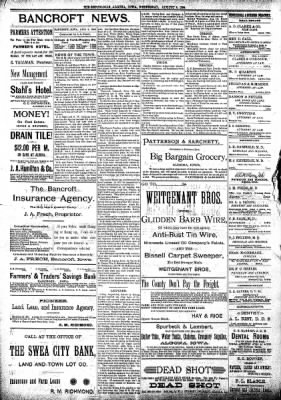 The Algona Republican from Algona, Iowa on August 8, 1894 · Page 8