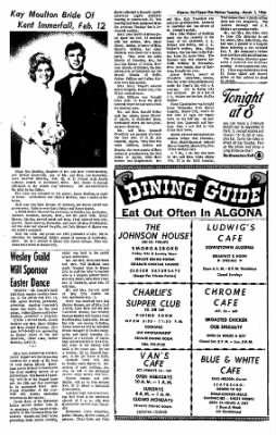 The Algona Upper Des Moines from Algona, Iowa on March 1, 1966 · Page 9
