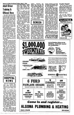 The Algona Upper Des Moines from Algona, Iowa on March 1, 1966 · Page 13