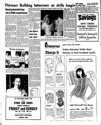 Kossuth County Advance from Algona, Iowa on August 18, 1966 · Page 8