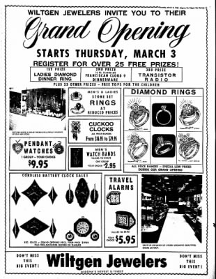 The Algona Upper Des Moines from Algona, Iowa on March 3, 1966 · Page 11