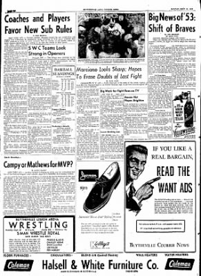 The Courier News from Blytheville, Arkansas on September 21, 1953 · Page 6