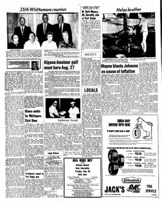 Kossuth County Advance from Algona, Iowa on August 22, 1966 · Page 5