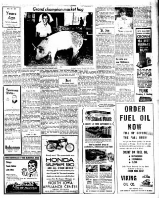 Kossuth County Advance from Algona, Iowa on August 25, 1966 · Page 18