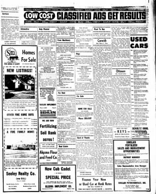 Kossuth County Advance from Algona, Iowa on August 29, 1966 · Page 7