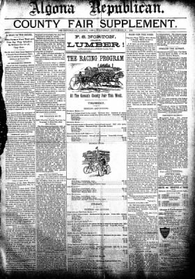 The Algona Republican from Algona, Iowa on September 19, 1894 · Page 9