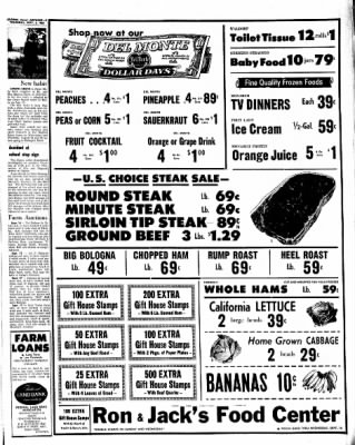 Kossuth County Advance from Algona, Iowa on September 8, 1966 · Page 3