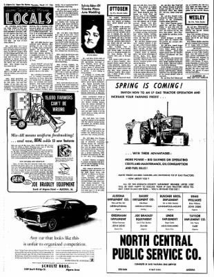 The Algona Upper Des Moines from Algona, Iowa on March 17, 1966 · Page 2