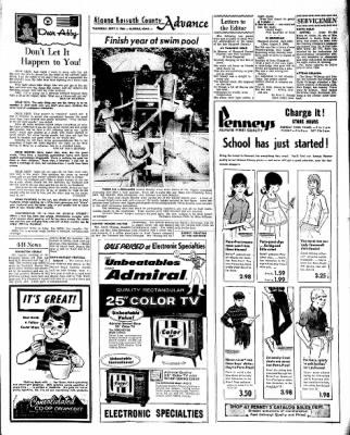 Kossuth County Advance from Algona, Iowa on September 8, 1966 · Page 13