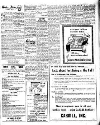 Kossuth County Advance from Algona, Iowa on September 8, 1966 · Page 17