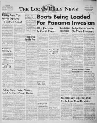 The Logan Daily News from Logan, Ohio on April 28, 1959 · Page 1