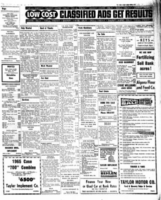 Kossuth County Advance from Algona, Iowa on September 15, 1966 · Page 7