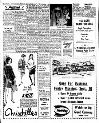 Kossuth County Advance from Algona, Iowa on September 15, 1966 · Page 8