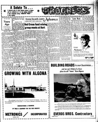 Kossuth County Advance from Algona, Iowa on September 15, 1966 · Page 9