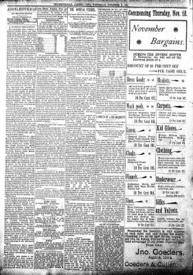 The Algona Republican from Algona, Iowa on November 14, 1894 · Page 4