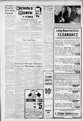 The Evening Sun from Hanover, Pennsylvania on January 9, 1970 · Page 24