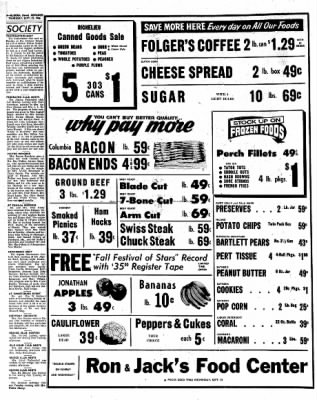Kossuth County Advance from Algona, Iowa on September 22, 1966 · Page 4