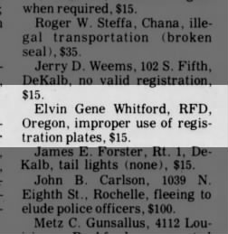 Dixon Evening Telegraph from Dixon, Illinois on October 6